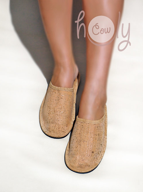 Eco Friendly Slippers Made From Cork