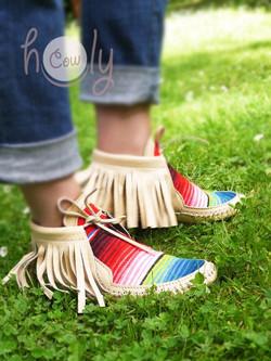 Serape Boots