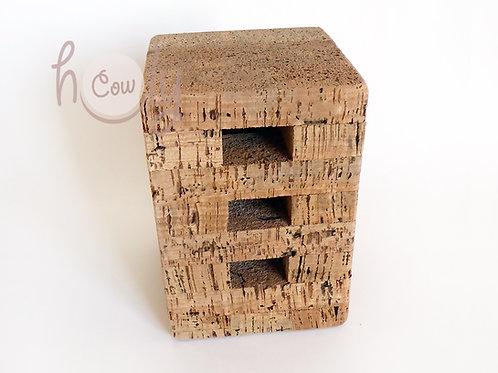 Small Eco Friendly Cork Stool