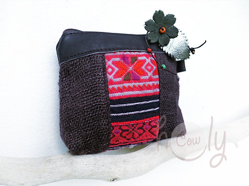 Colorful Tribal Coin Wallet