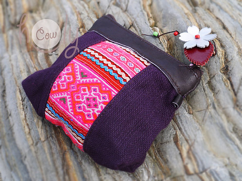 Purple and Pink Tribal Wallet
