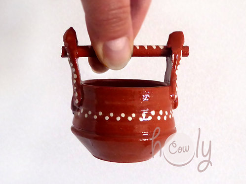 Handmade Terracotta Miniature Pot