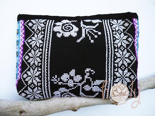 Black Tribal Vintage Hmong Bag