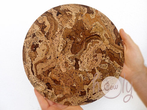 Eco Friendly Round Cork Placemats