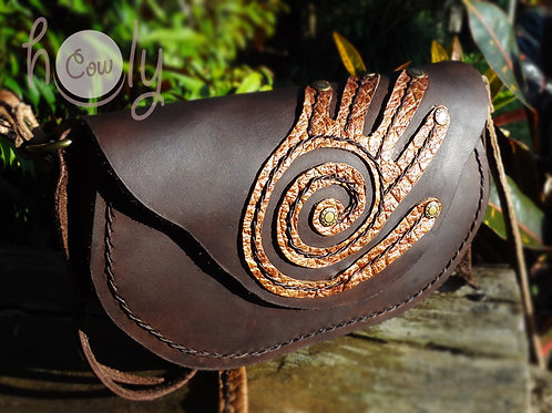 "Unique ""Spirit Hand"" Shoulder Bag"