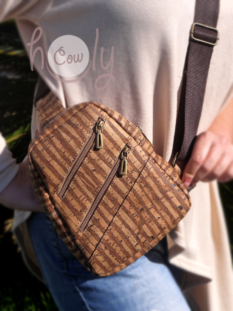 Eco Friendly Vegan Backpack Made From Cork
