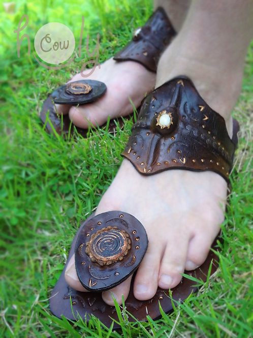 Crazy Indian Leather Sandals