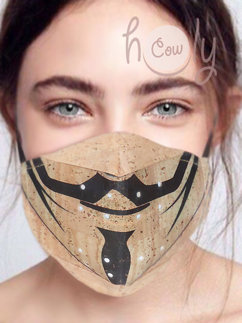 Anonymous Reusable Cork Face Mask