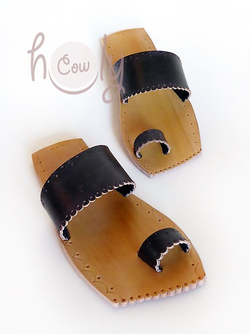 Unique Leather Sandals With Leather Sole