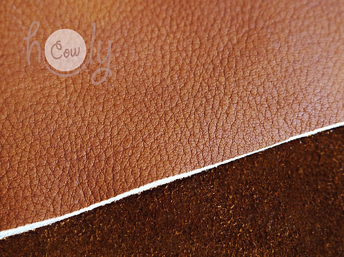 """Genuine Brown Cow Leather 12""""x12"""""""