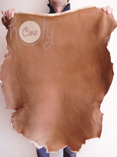 Brown Sheepskin Leather Full Hide