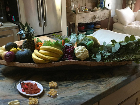 Amazing large cork fruit bowl, Thanks to our special client for this beautiful photo 😍
