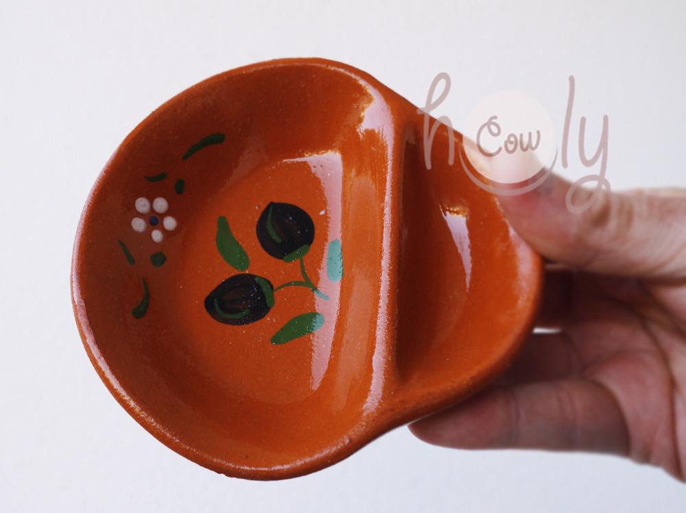 Handmade Terracotta Olive Dish