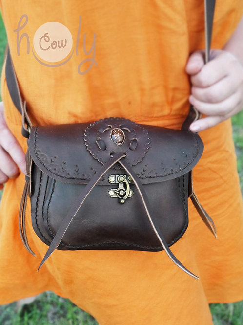 Crazy Horse Leather Bag