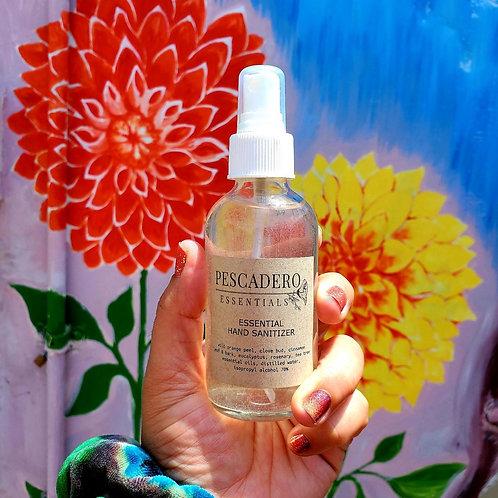 Essential Hand Sanitizer (glass 2oz bottle)