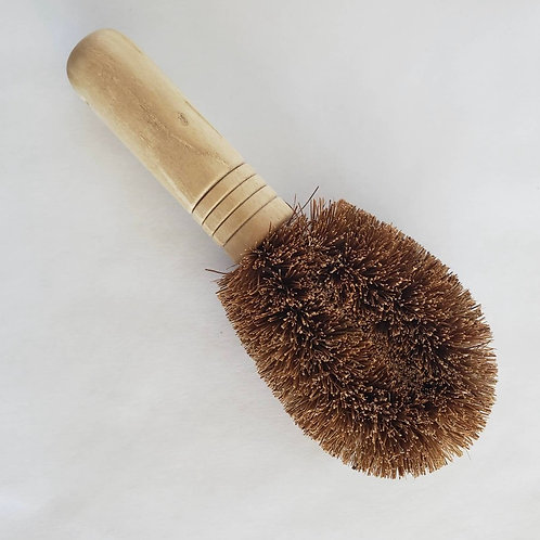 Coconut Fiber & Bamboo Mini Brush
