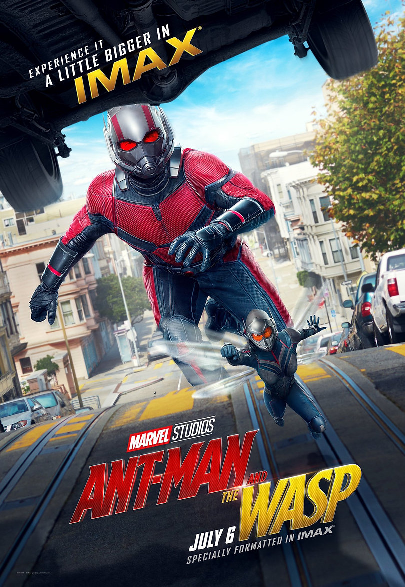Ant-Man and the Wasp Key Art