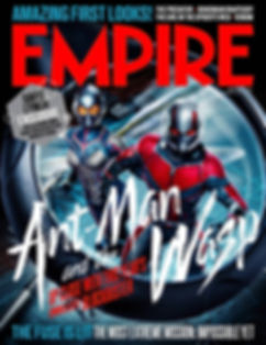 Ant-Man and the Wasp Empire Magazine Cover