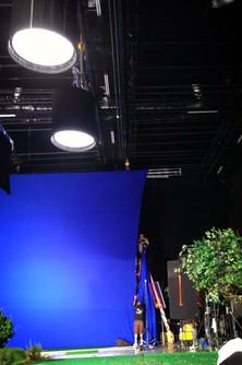 Huge blue screen in LA