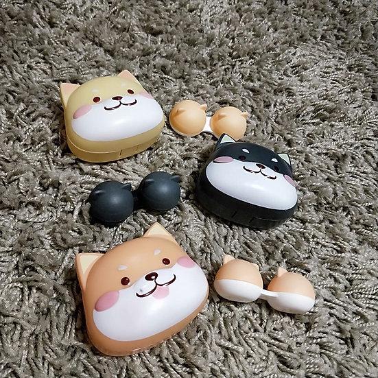 Shiba Inu Contact Case Set