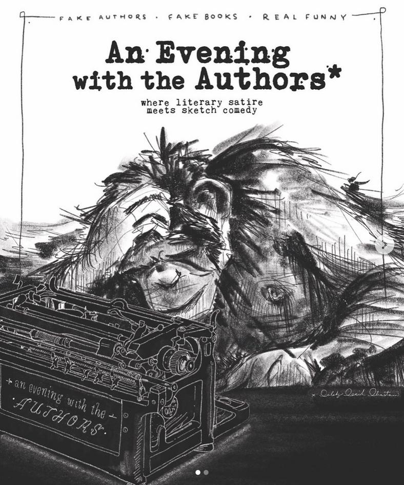Comedy Show Poster Design