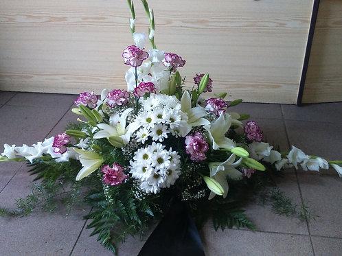 Kytice karafiáty, lilie, mečíky, chryzantémy (č.7)