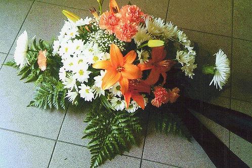 Kytice karafiáty, lilie, chryzantémy (č.18)