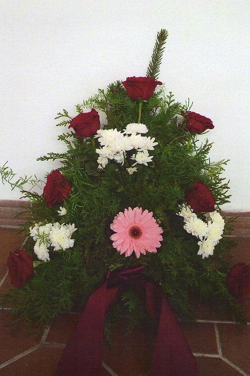 Kytice růže, chryzantémy, gerbera (č.15A)