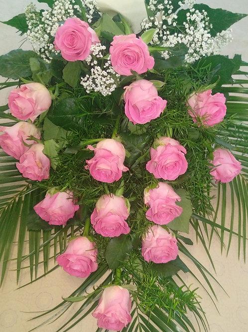Řezaná kytice růže (č.12)