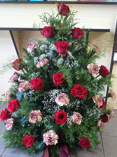 Kytice karafiáty. růže (č.9)