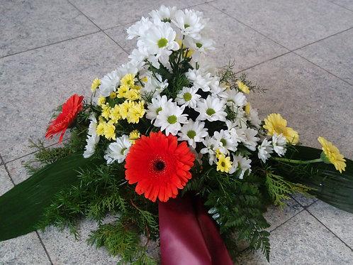 Kytice chryzantémy, gerbery (č.4)