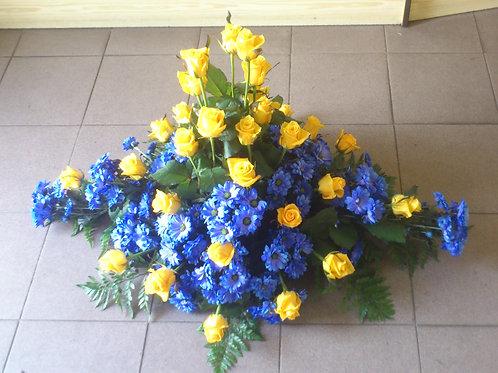 Kytice růže, chryzantémy (č.3)