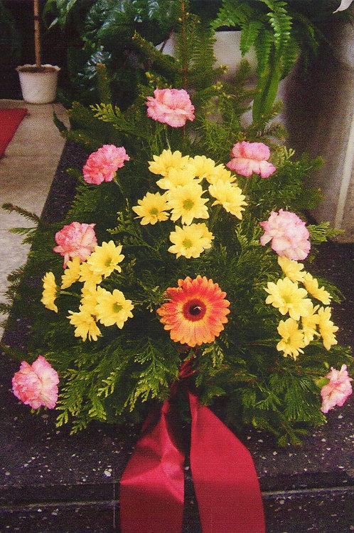 Kytice karafiáty, chryzantémy, lilie nebo gerbera (č.15)