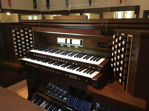 Reider Organ Console