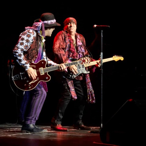 With Stevie Van Zandt