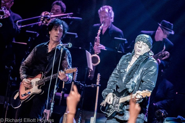With Stevie Van Zandt and The Disciples