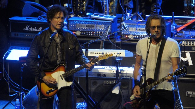 With Rick Springfield