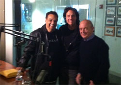 With Gary US Bonds, Dave Marsh @ Sirius Radio