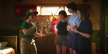 Stranger Things Scene