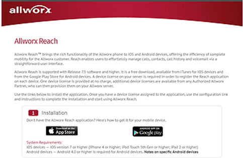 allworx reach app page.png