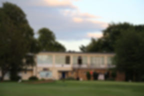 Club House viewed from the 18th fairway