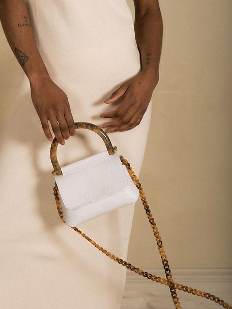 Bonnie bag white 5 campagne Laurence Del