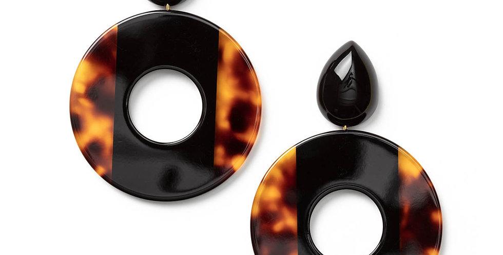 Jolie earrings black