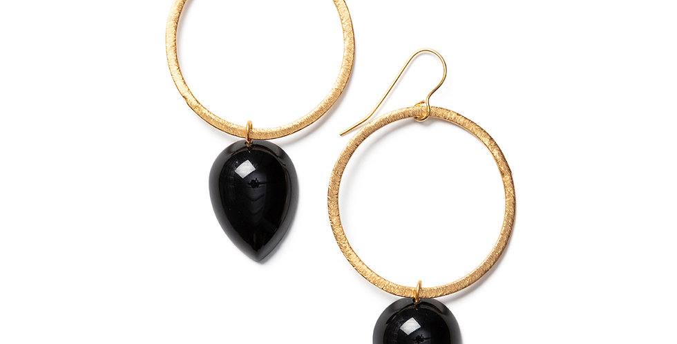 Seiyo earrings black