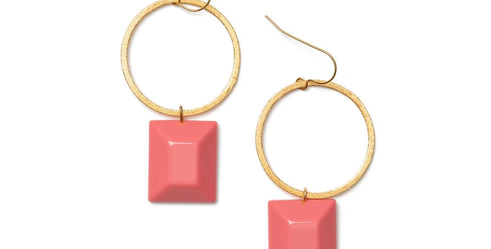 Pura earrings pink