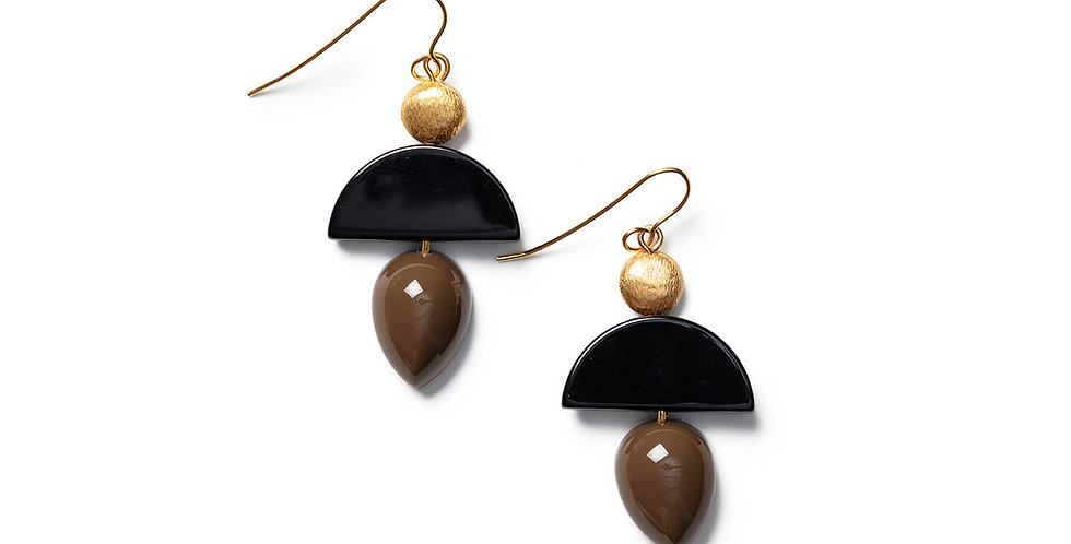 Neko Earrings khaki