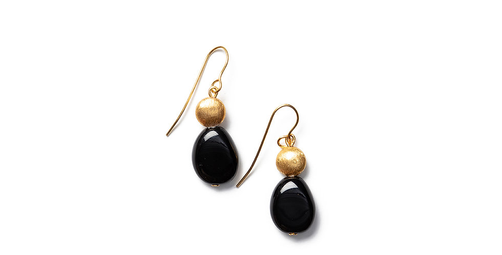 Kiho earrings black