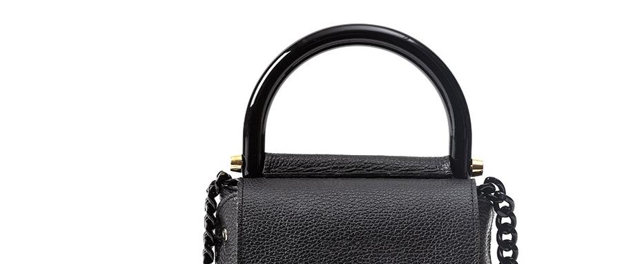 Bonnie Bag black & maxi chocolate box