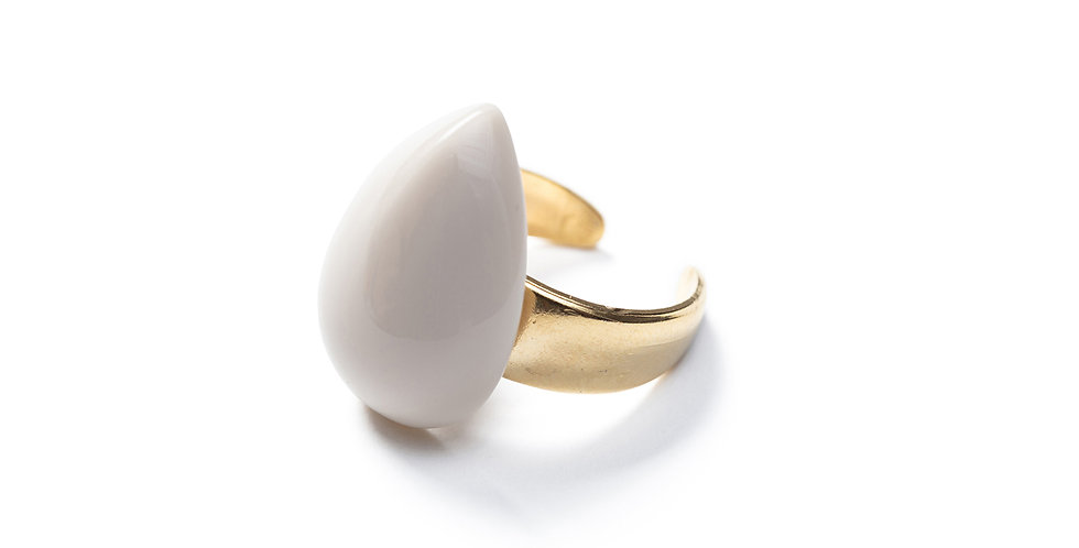 Ina ring beige