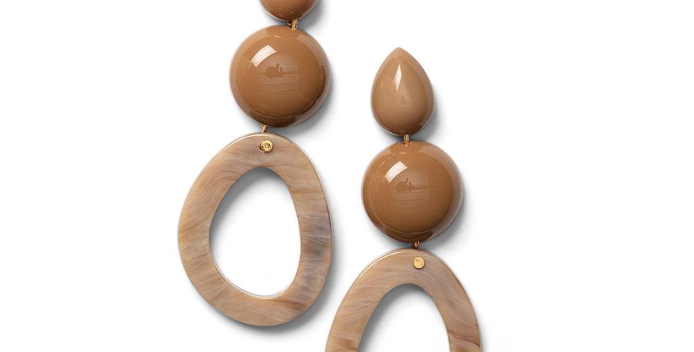 Niwa earrings sand